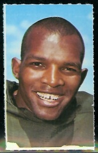 Herb Adderley 1969 Glendale Stamps football card