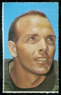 Carroll Dale 1969 Glendale Stamps football card