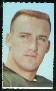 Boyd Dowler 1969 Glendale Stamps football card