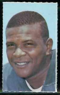Bob Jeter 1969 Glendale Stamps football card