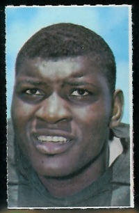 Dave Robinson 1969 Glendale Stamps football card