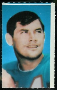 Pete Beathard 1969 Glendale Stamps football card