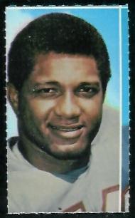 Garland Boyette 1969 Glendale Stamps football card