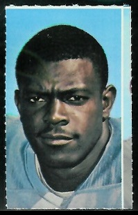 Woody Campbell 1969 Glendale Stamps football card
