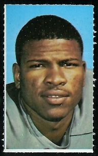 Ken Houston 1969 Glendale Stamps football card