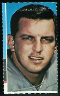Bobby Maples 1969 Glendale Stamps football card
