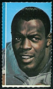 George Webster 1969 Glendale Stamps football card