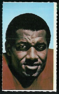 Bobby Bell 1969 Glendale Stamps football card