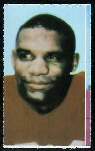 Mike Garrett 1969 Glendale Stamps football card