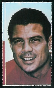 Johnny Robinson 1969 Glendale Stamps football card