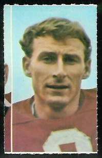 Jan Stenerud 1969 Glendale Stamps football card