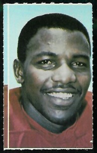 Otis Taylor 1969 Glendale Stamps football card