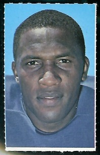 Lenny Lyles 1969 Glendale Stamps football card