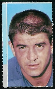 Pat Studstill 1969 Glendale Stamps football card