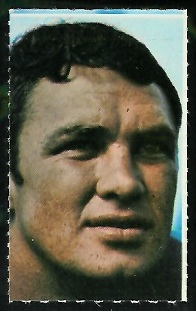 Maxie Williams 1969 Glendale Stamps football card