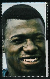 Jim Warren 1969 Glendale Stamps football card