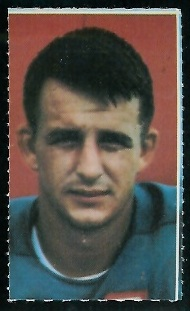 Rick Norton 1969 Glendale Stamps football card