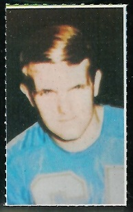 Bob Griese 1969 Glendale Stamps football card