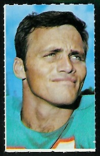 Howard Twilley 1969 Glendale Stamps football card