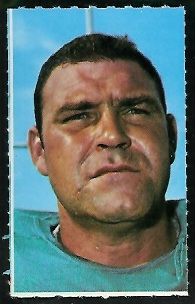 Tom Goode 1969 Glendale Stamps football card