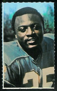 Dick Westmoreland 1969 Glendale Stamps football card