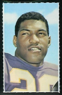 Clint Jones 1969 Glendale Stamps football card
