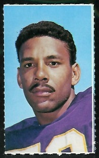 Jim Marshall 1969 Glendale Stamps football card