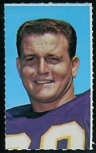 Roy Winston 1969 Glendale Stamps football card