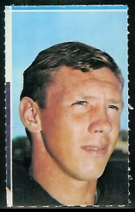 Dan Abramowicz 1969 Glendale Stamps football card