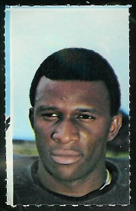 John Douglas 1969 Glendale Stamps football card