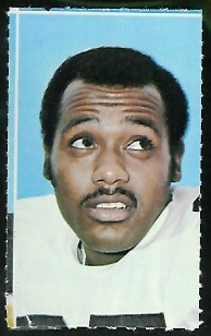 Don Shy 1969 Glendale Stamps football card