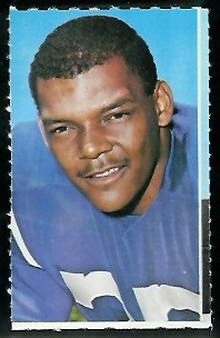 Tony Lorick 1969 Glendale Stamps football card