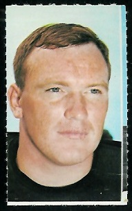 Dave Rowe 1969 Glendale Stamps football card