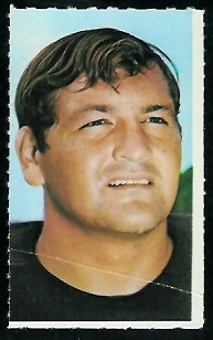 Del Williams 1969 Glendale Stamps football card