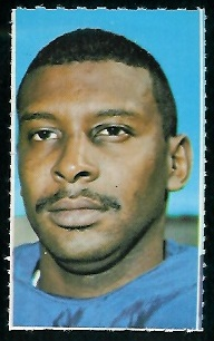 Homer Jones 1969 Glendale Stamps football card