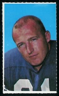 bruce maher  glendale stamps  vintage football