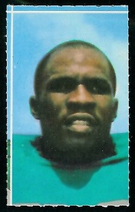 Emerson Boozer 1969 Glendale Stamps football card