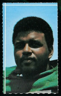 Winston Hill 1969 Glendale Stamps football card