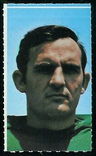 Jim Hudson 1969 Glendale Stamps football card
