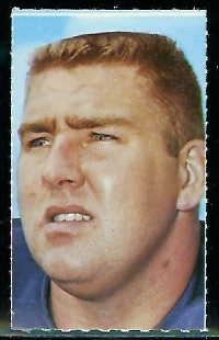 Dan Sullivan 1969 Glendale Stamps football card