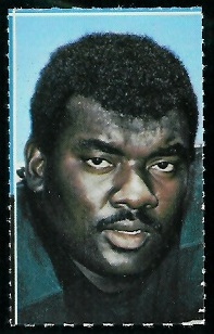 Ike Lassiter 1969 Glendale Stamps football card