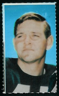 Kent McCloughan 1969 Glendale Stamps football card