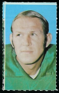 Gary Ballman 1969 Glendale Stamps football card