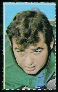 Joe Carollo 1969 Glendale Stamps football card