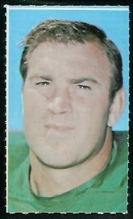 Dave Lloyd 1969 Glendale Stamps football card