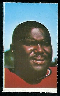 Houston Antwine 1969 Glendale Stamps football card