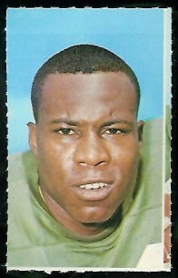 Nate Ramsey 1969 Glendale Stamps football card