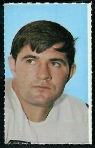 John Hilton 1969 Glendale Stamps football card