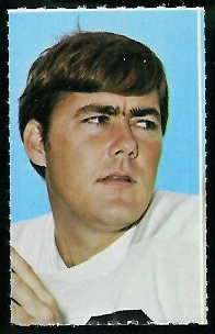 Kent Nix 1969 Glendale Stamps football card