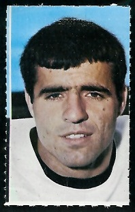 Dick Hoak 1969 Glendale Stamps football card